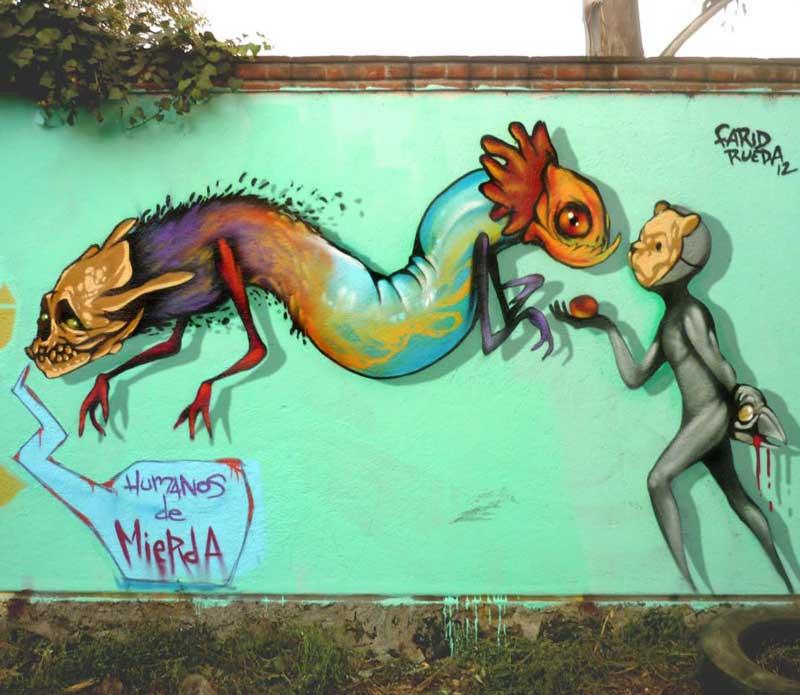 """Humanos de Mierda"",2012, Farid Rueda"