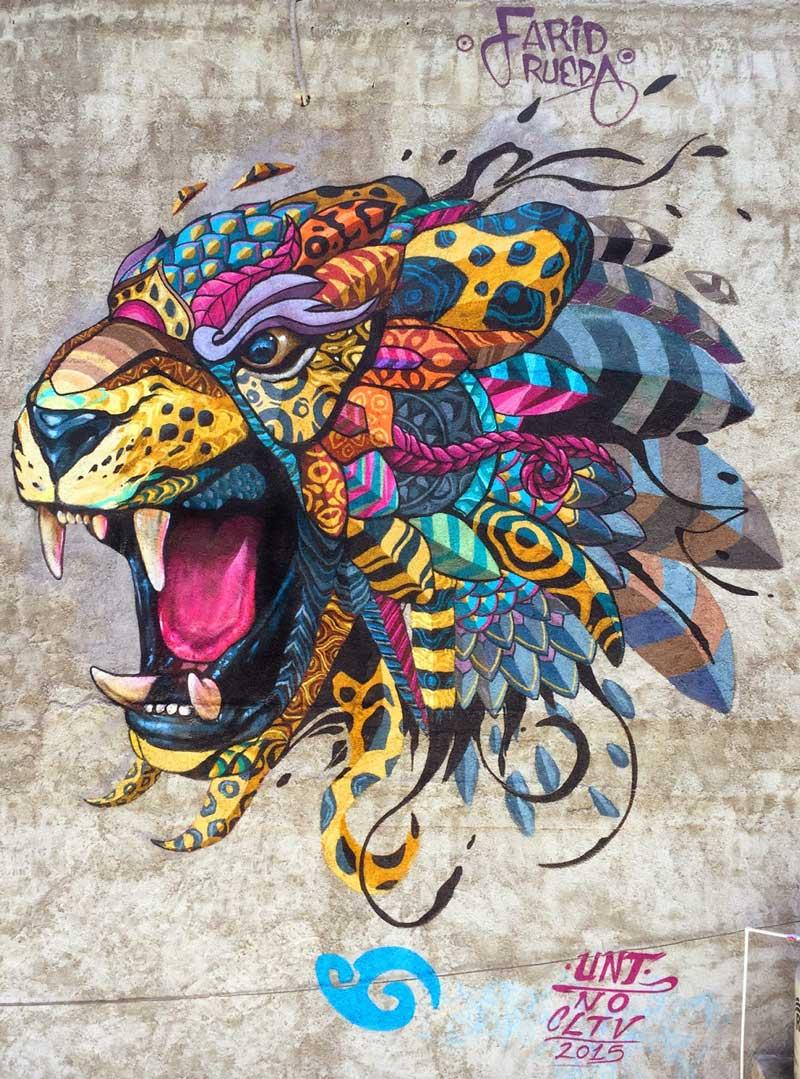 """""""Jaguar Balam"""" Farid Rueda 2015"""
