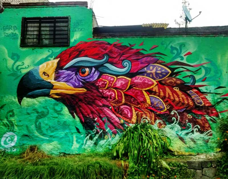 Farid rueda mexican top 15 street artist muralist for Arte mural mexicano