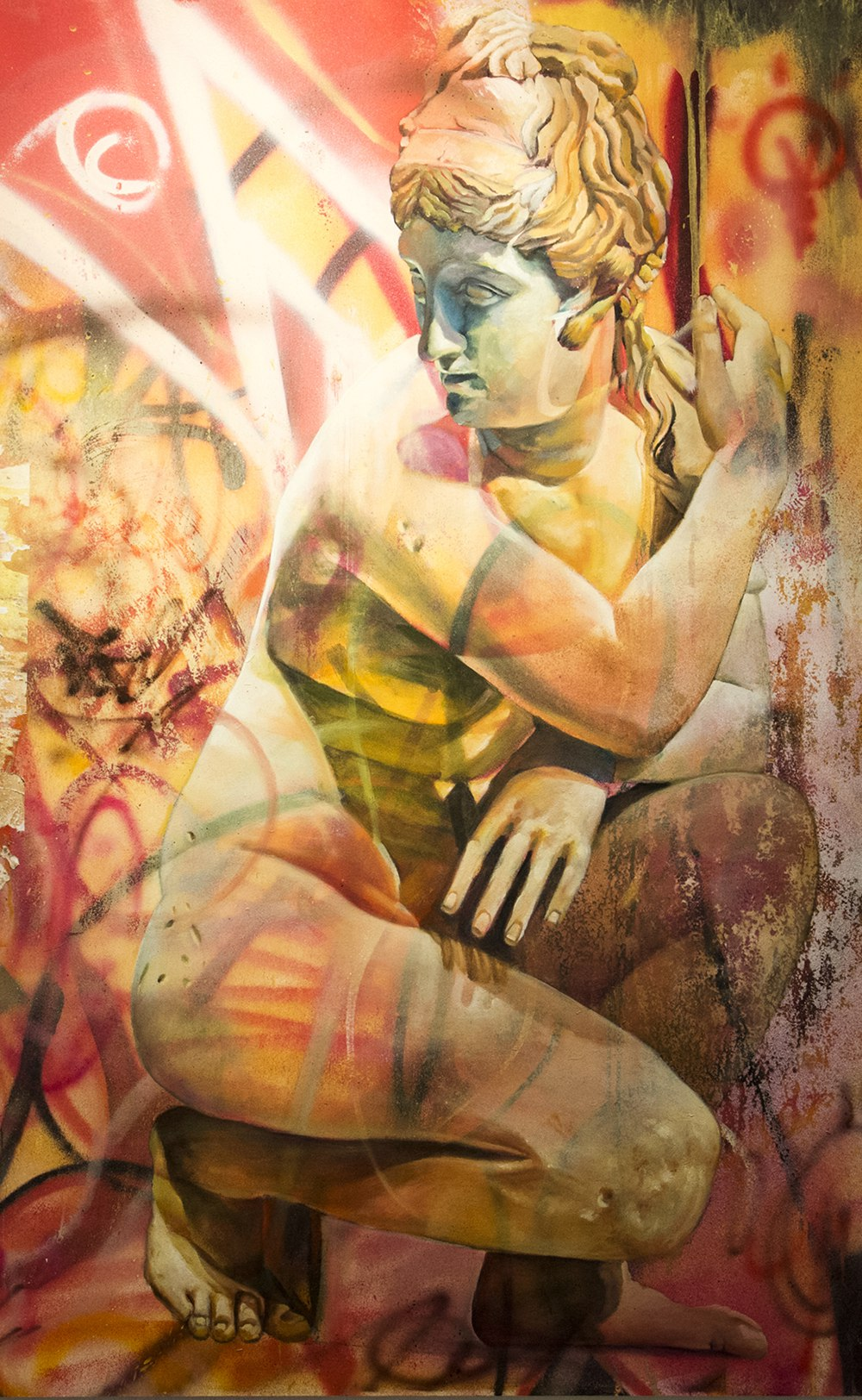Pichi Avo Art - graffitistreet - Aphrodite of walls