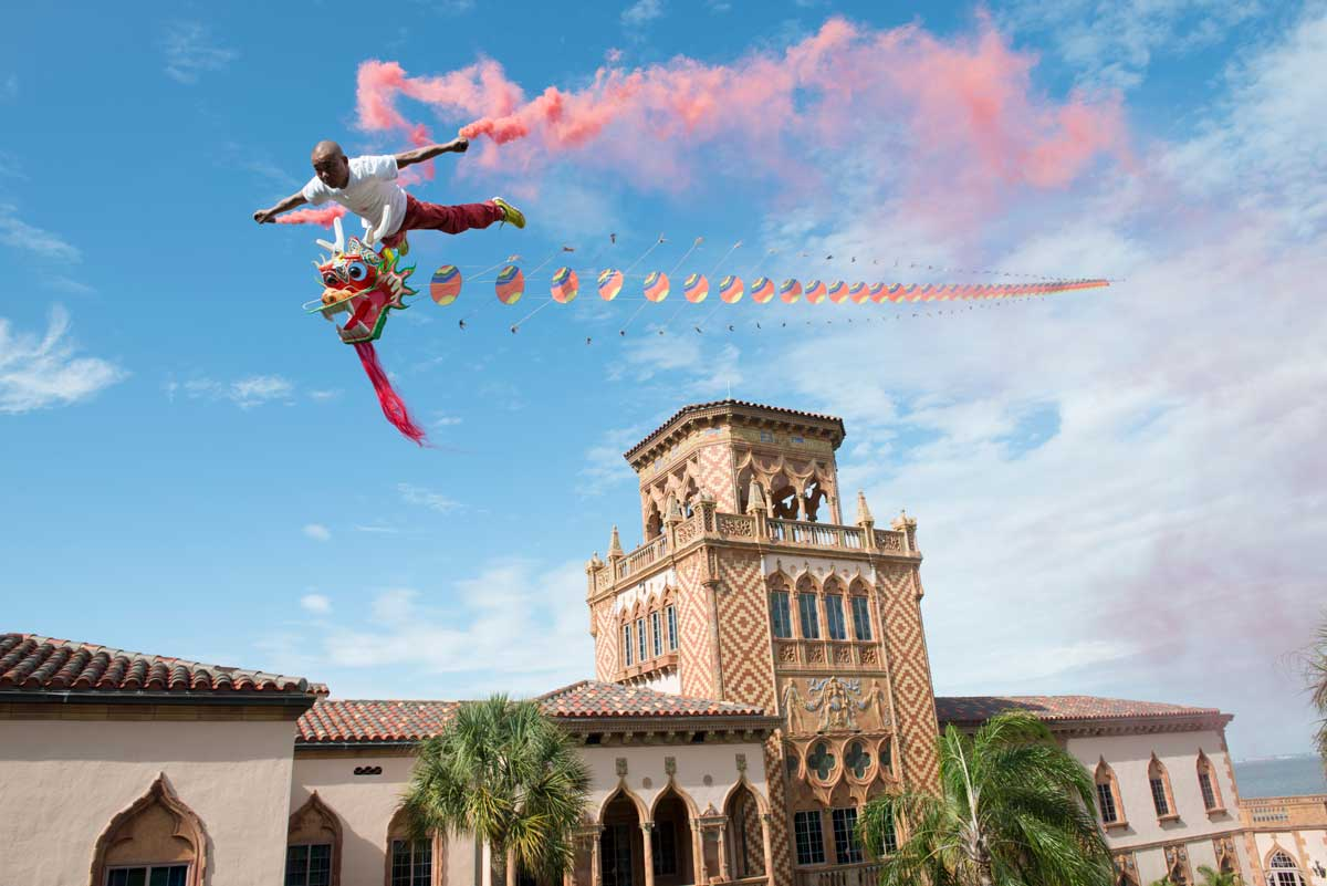 Li Wei - Flying over Ringling