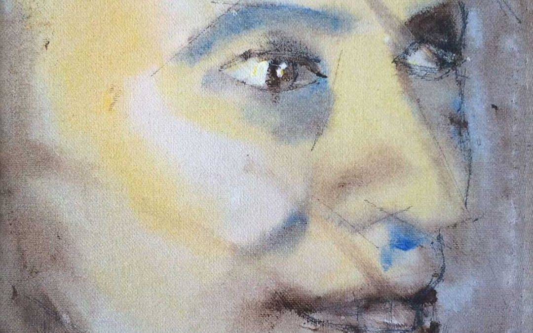 A Soulful Art Legacy: 25 David Bowie Paintings