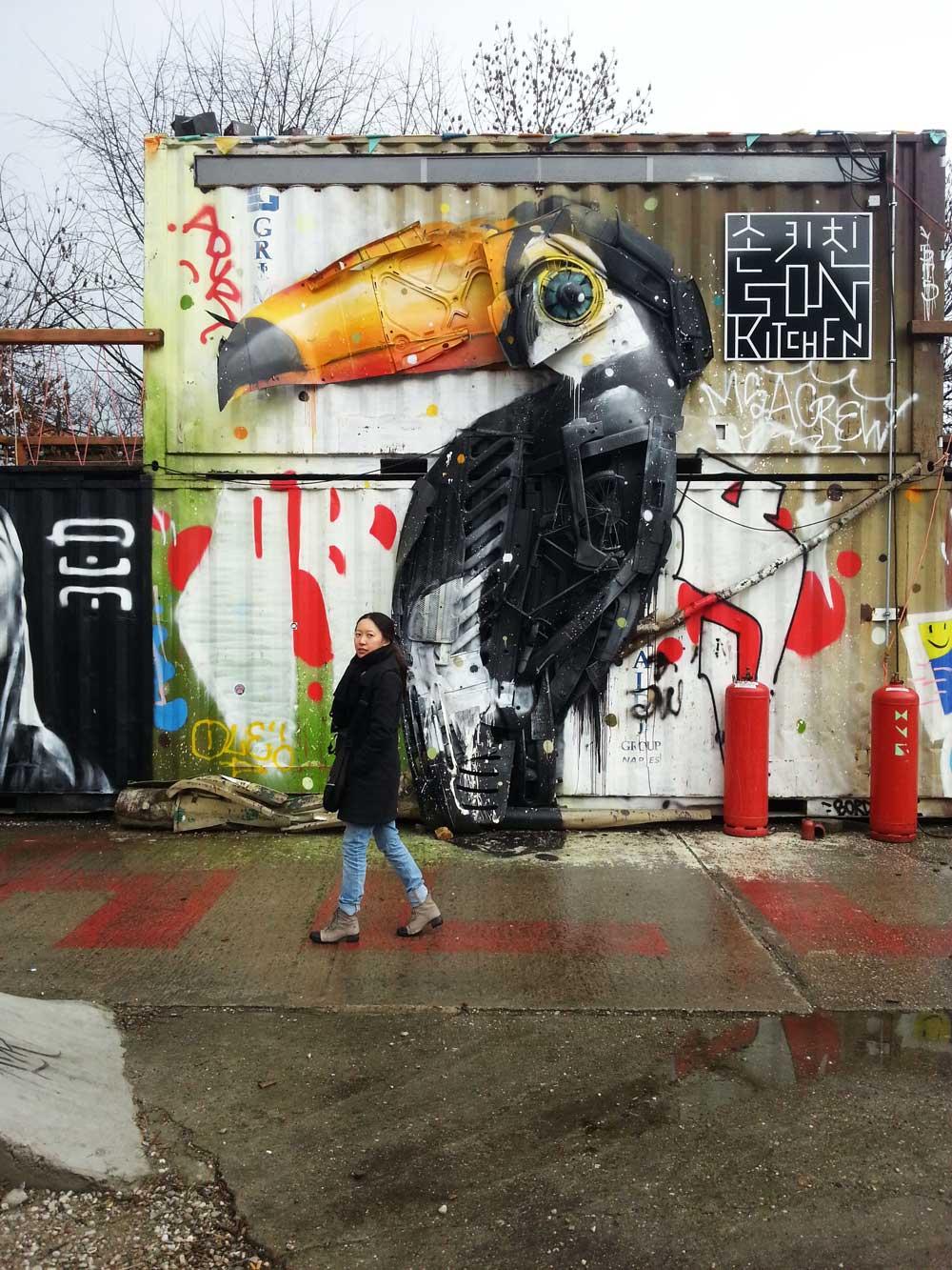 Street Art Walk Berlin
