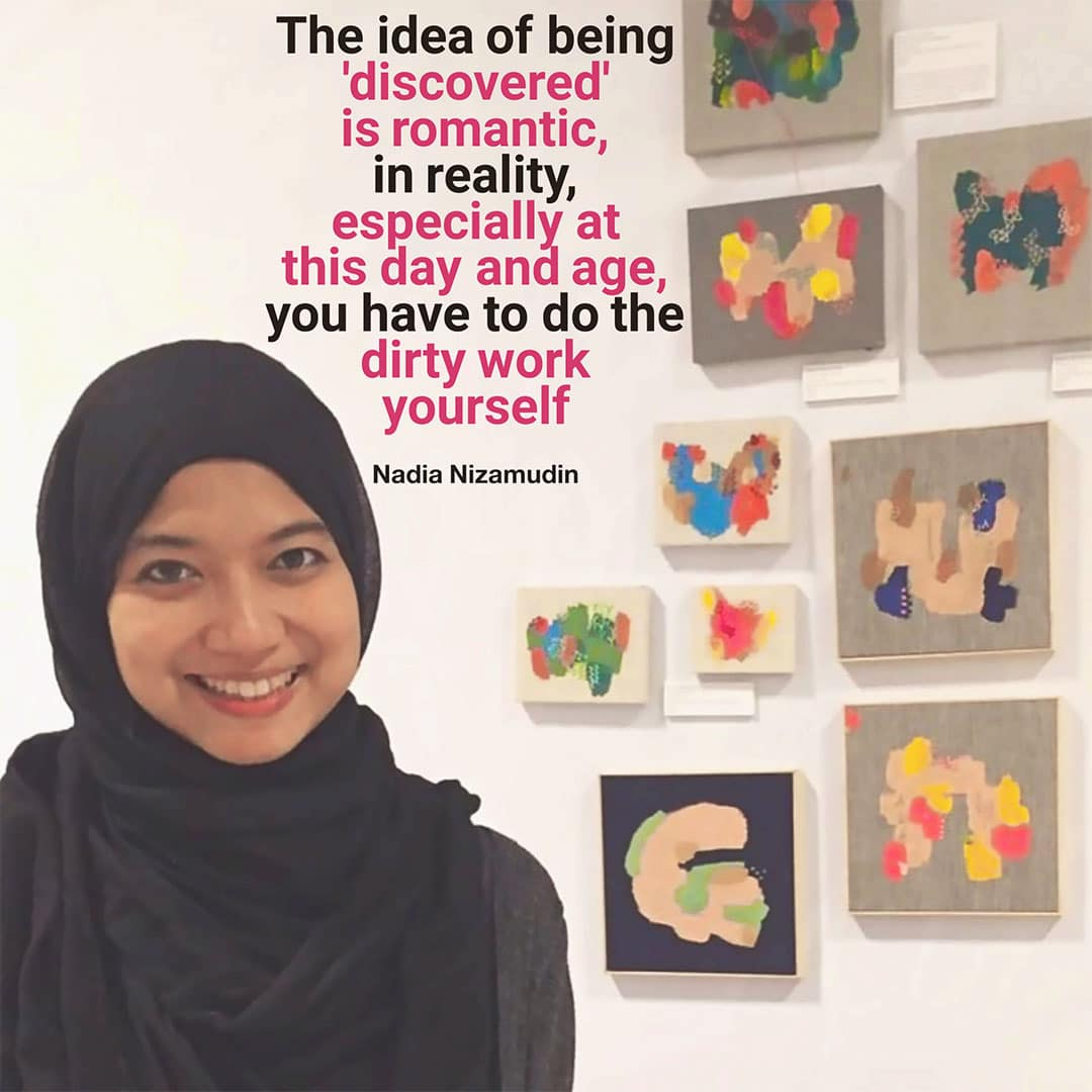 Being an artist quotes - Nadia Nizamudin