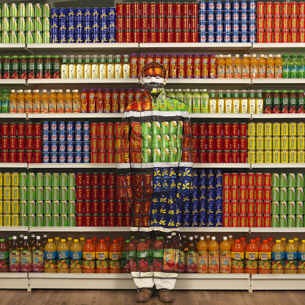 How to find your art style - Liu Bolin