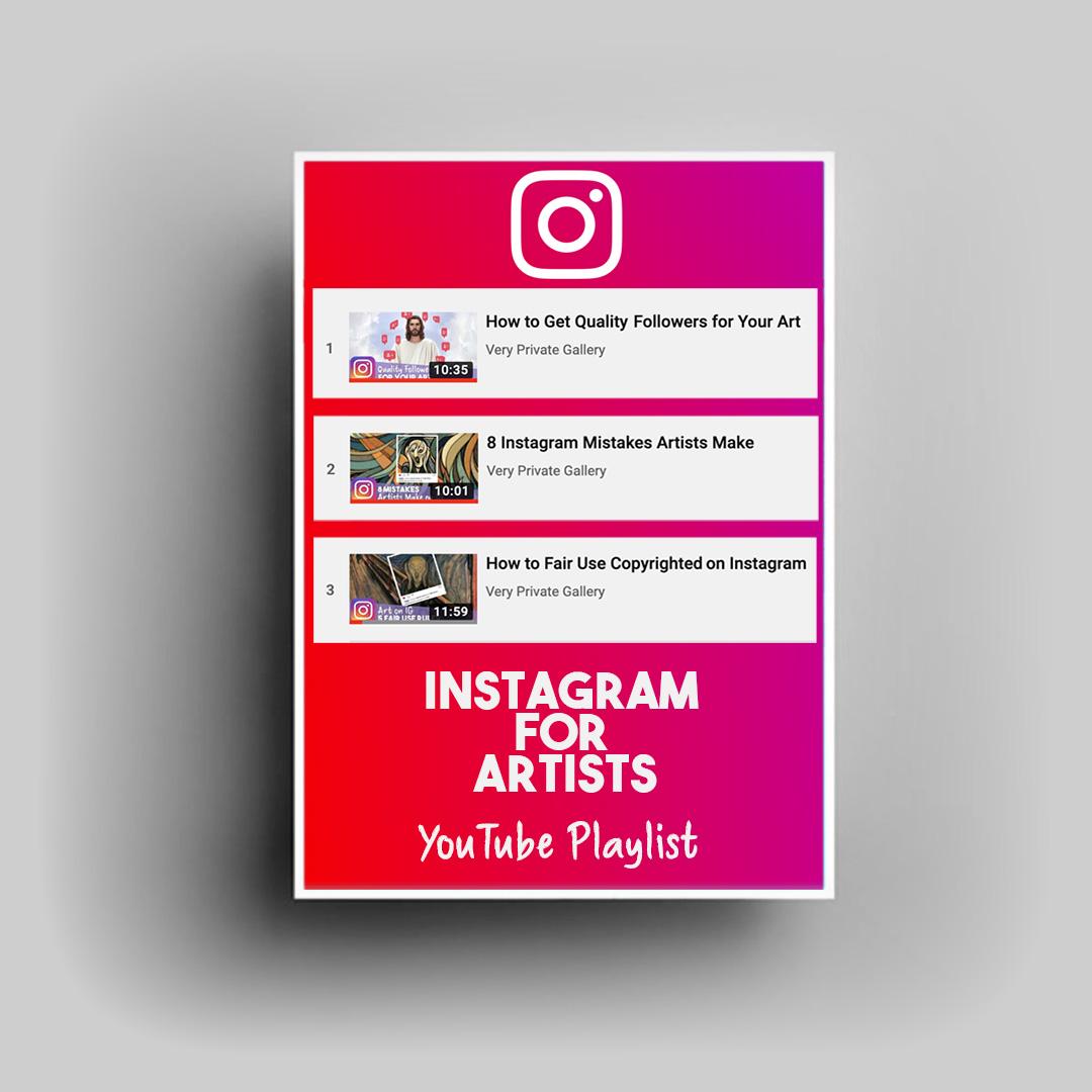 instagram tips for artists