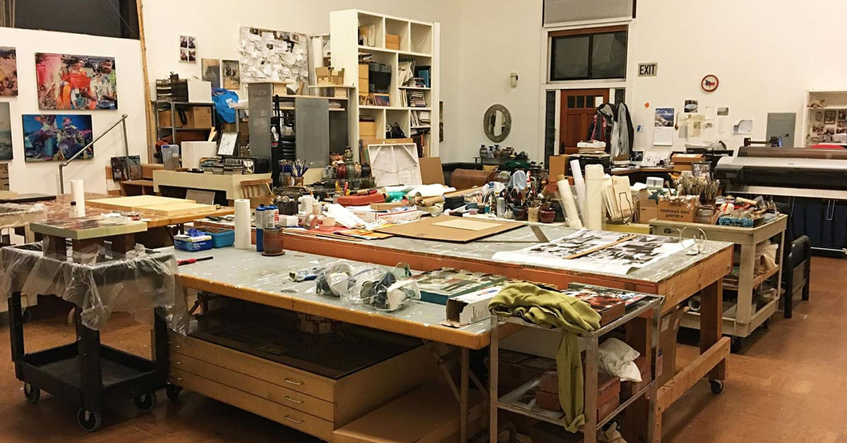 Art Blog | what is an art studio?
