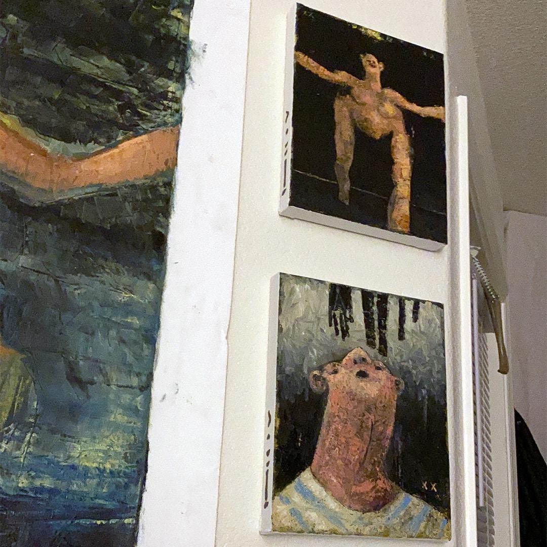 What is an art studio?