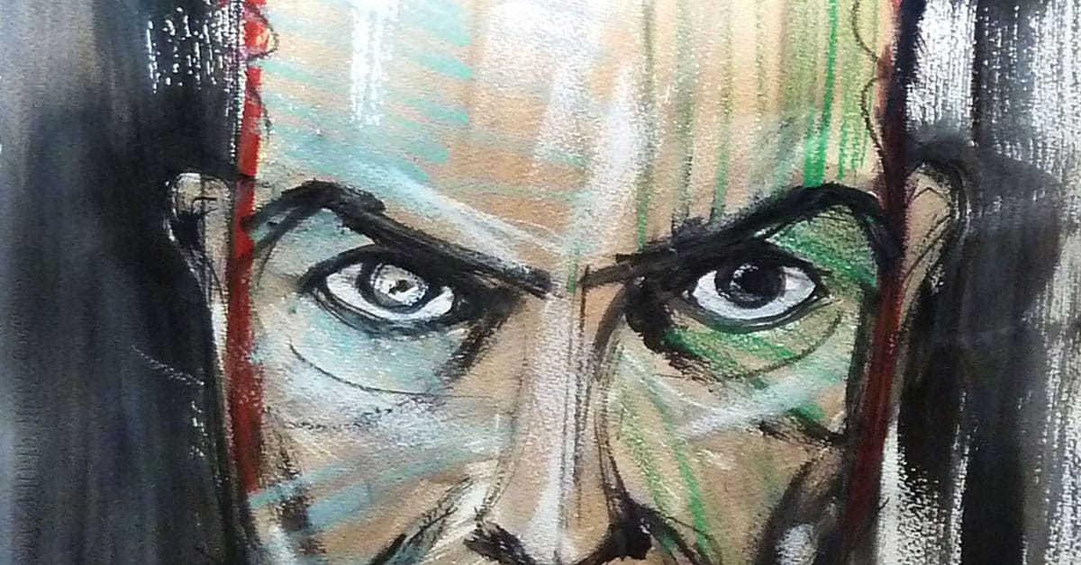 Art Blog | David Bowie paintings