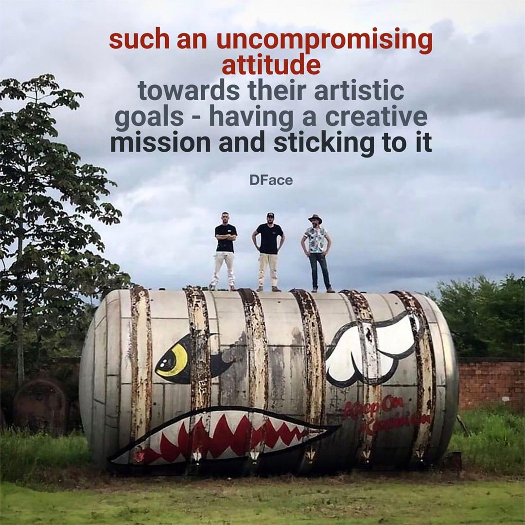street art quotes Dface