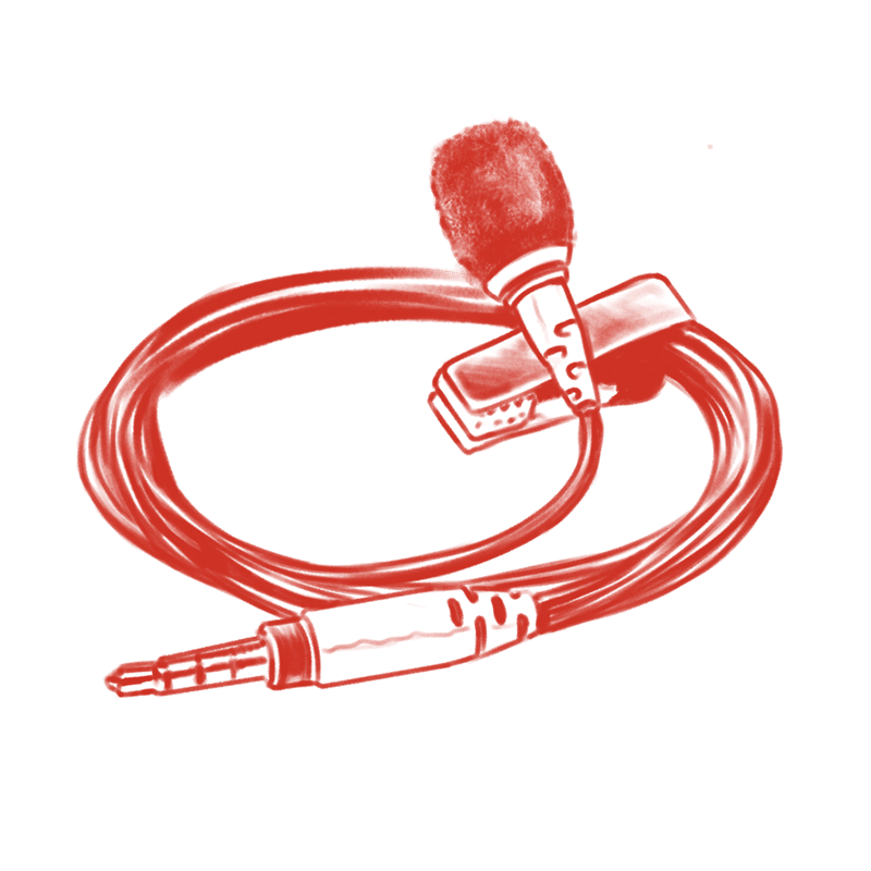 youtube for artists - Wired Lavalier Mic