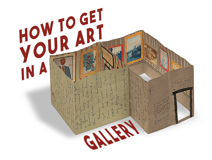 How to get your art in a gallery